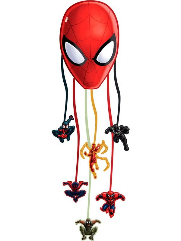 spiderman pinata spiderman underholdning til børnefødselsdagen spiderman leg