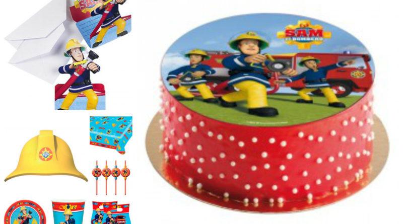 Brandmand sam borddækning brandmand sam børnefødselsdag brandmand sam fødselsdag inspiration