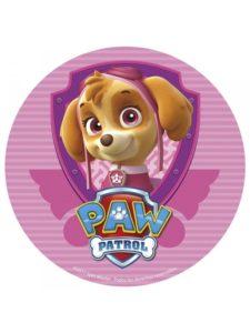 paw patrol skye fødselsdagsfest skye fødselsdagstema paw patrule skye fødselsdag paw patrol skye muffins paw patrol kageprint paw patrol spiseligt billede