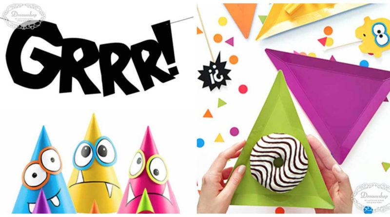 Monster fødselsdag, monster børnefødselsdag, monster fest, monster temafest, inspiration til børnefødselsdag, alletiders dag, borddækning til monster fødselsdag