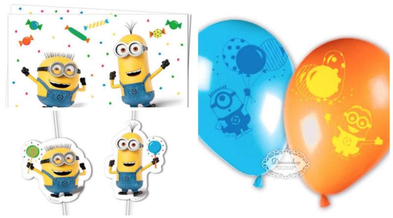 Minions fødselsdagstema, minions fødselsdag, fødselsdag med minions tema, minions børnefødselsdag, minions fest, minions borddækning, minions festartikler, alletiders dag