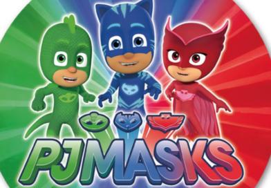 PJ Masks pyjamasheltene kageprint