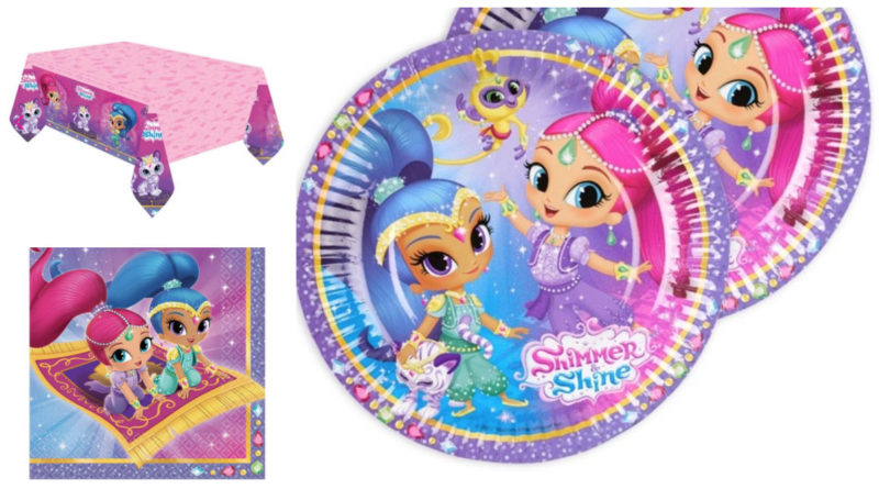 shimmer & Shine fødselsdagstema, shimmer & shine fødselsdag, shimmer og shine fødselsdag, shimmer & shine temafest, hvem er shimmer & shine, inspiration til pigefødselsdag, alletidersdag