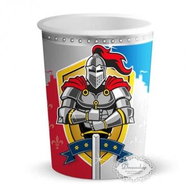 Ridder fødselsdag temafest Ridderkrus ridder papkrus