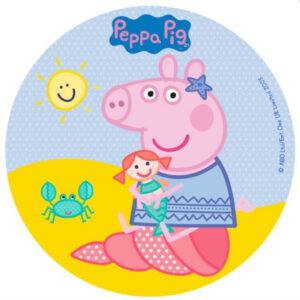 Gurli gris kageprint, gurli gris sukkerprint, gurli gris kagepynt, gurli gris spiseligt billede, gurli gris spiselige billeder, gurli gris fødselsdag