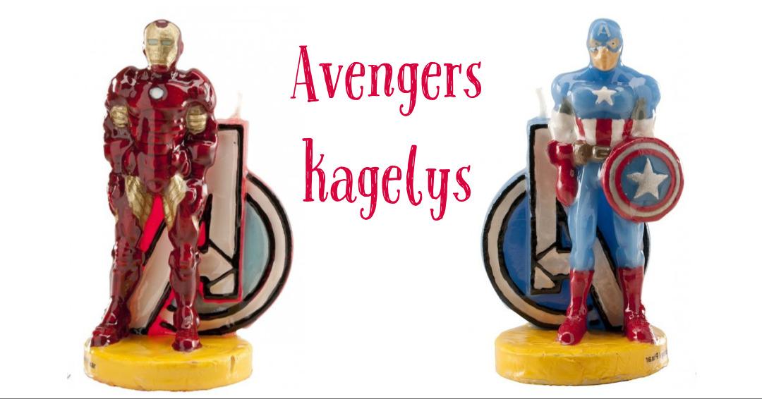 avengers kagelys avengers kagepynt iron man kagelys captain america kagelys