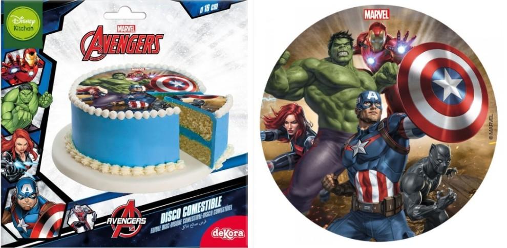 avengers kageprint avengers sukkerprint