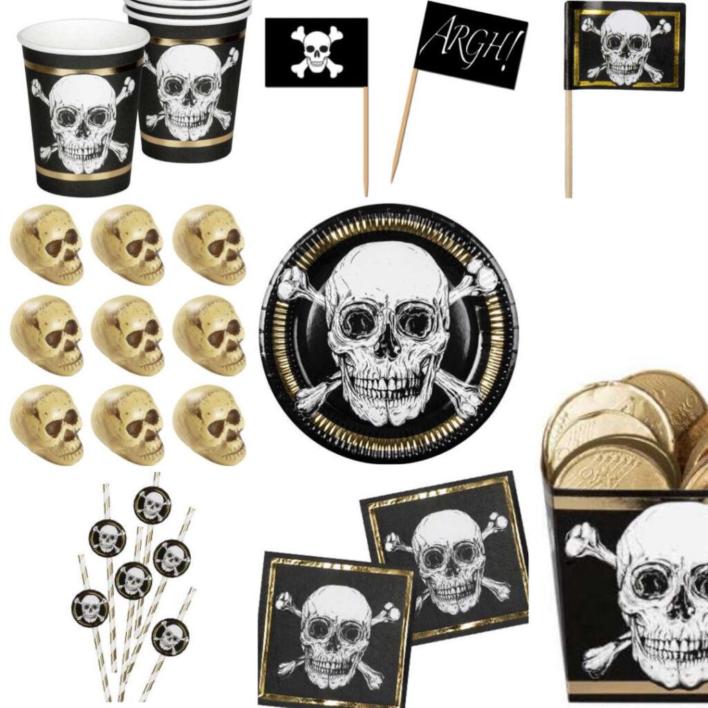 pirat tema til børnefødselsdag pirat fødselsdag temafest