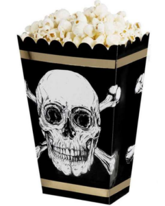 pirat børnefødselsdag popcorn