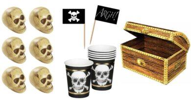 pirat børnefødselsdag tema